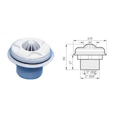 Certikin Liner 1 5 Quot Eyeball Inlet No Backnut Hd3lt