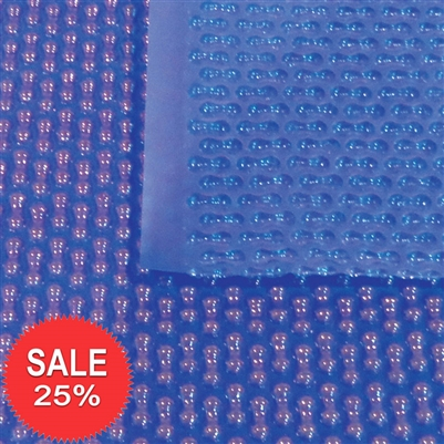 400 Micron Geo Bubble Blanket Blue Blue Swimming Pool