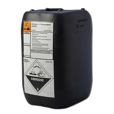 Liquid Chlorine With Anti Scale 14 15 Sodium